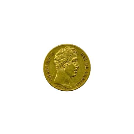 20 francs Charles X 1825 Lille