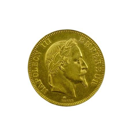 100 francs Napoléon III 1868 A