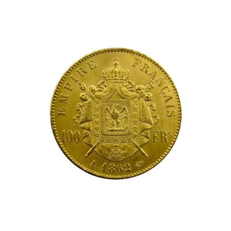 100 francs Napoléon III 1862 A