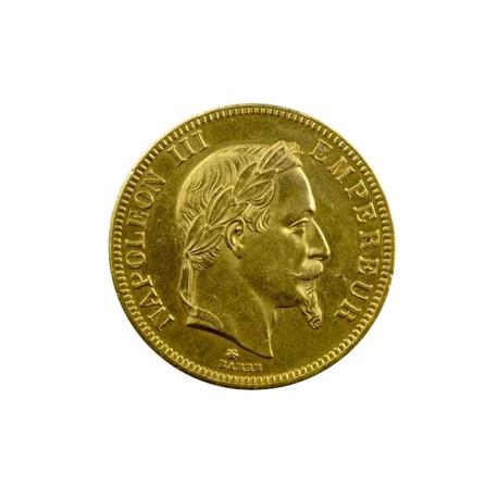 100 francs Napoléon III 1865 A