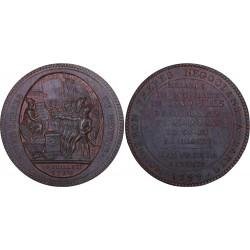 Monneron de 5 sols au pacte fédératif - 1792