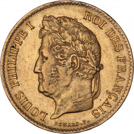 40 francs Louis Philippe Ier 1836 A