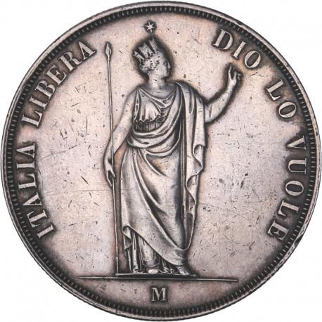 Italie - Lombardie (Gouvernement Provisoire) - 1848 M