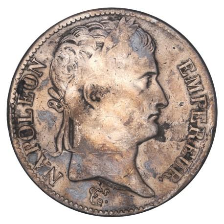 5 francs Napoléon Ier 1813 L
