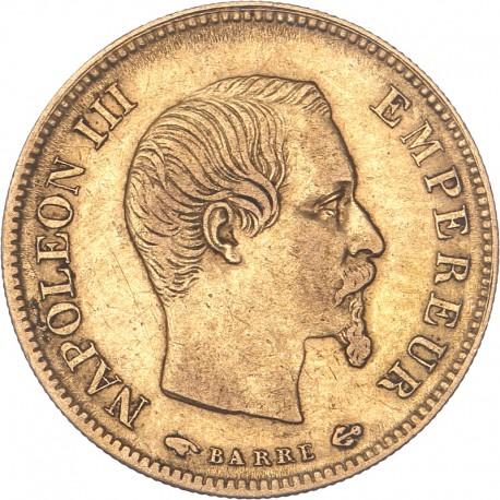 10 francs Napoléon III 1858 A Paris