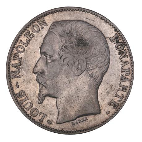5 francs Louis - Napoléon 1852 A