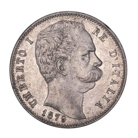 5 lire Umberto Ier 1879