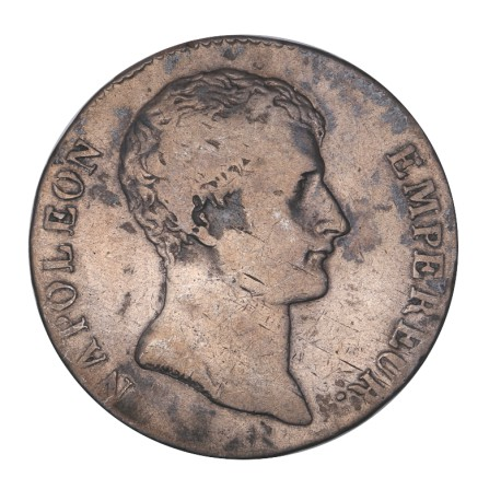 5 francs Napoléon Ier  AN 12 M