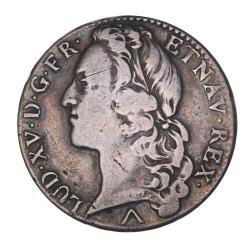 Louis XV - Demi écu au bandeau 1757 W