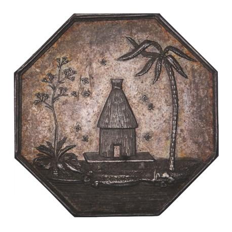 Jeton octogonal - Chambre du commerce d'Alger