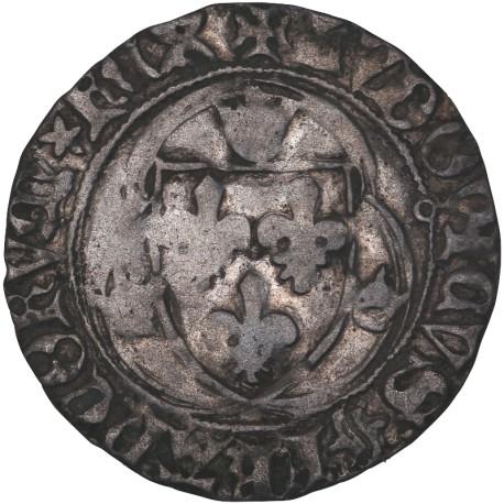 Louis XI - Blanc à la couronne de Toulouse