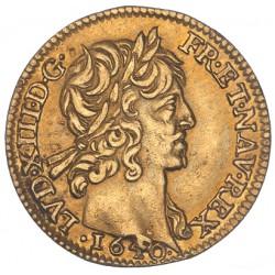 Louis XIII - Demi Louis d'or - 1640 A