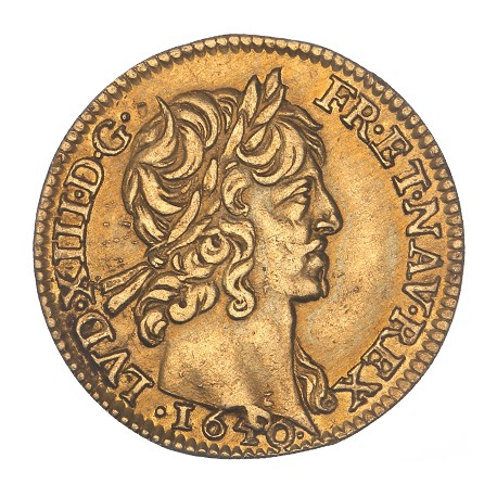 Louis XIII - Demi Louis d'or - 1640 A