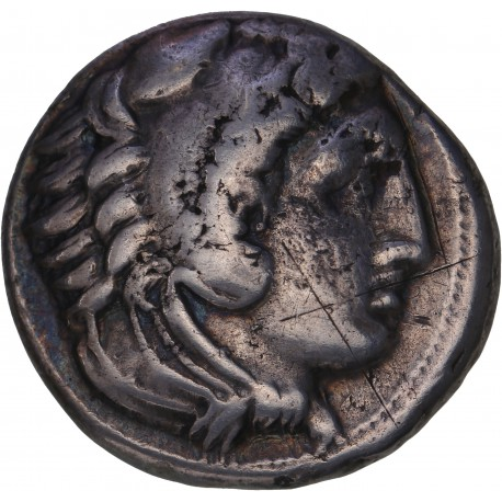 Royaume de Macédoine -Tétradrachme d'Alexandre le Grand