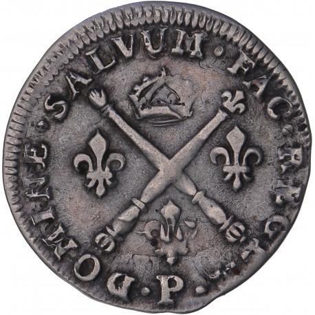Louis XIV - 5 sols aux insignes - 1702 P