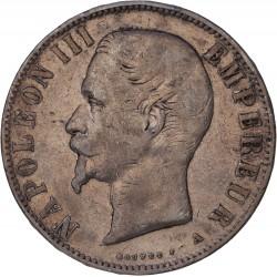 5 francs Napoléon III 1855 A