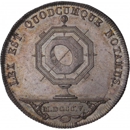 Jeton des notaires de Lyon - 1805