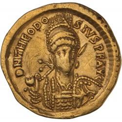 Solidus de Théodose II - Constantinople