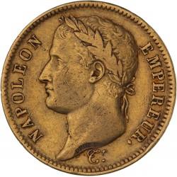 40 francs Napoléon Ier 1808 W