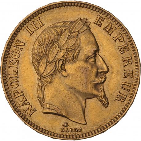 100 francs Napoléon III - 1869 A