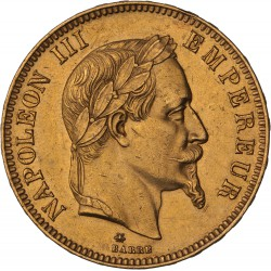 100 francs Napoléon III 1869 A