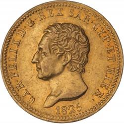 Italie - Sardaigne - 40 lires Charles Felix - 1825 Turin