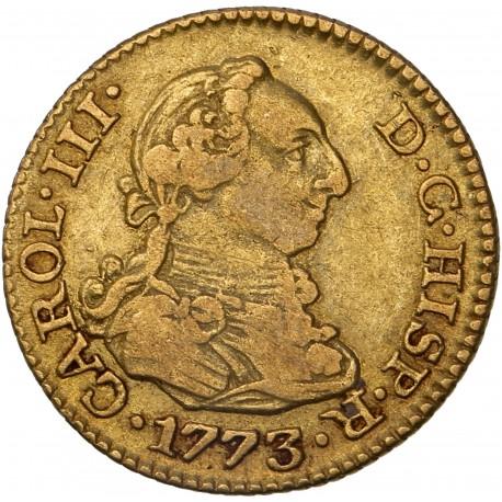 Espagne - 1/2 escudo Charles III - 1773 Madrid