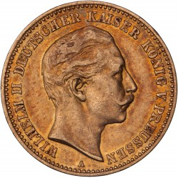 Allemagne - Prusse - 10 mark Guillaume II  1904 A