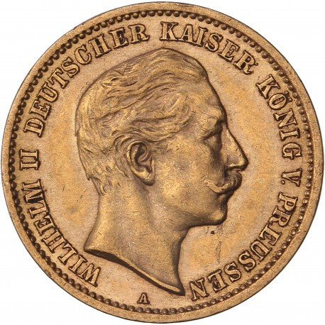 Allemagne - Prusse - 10 mark Guillaume II  1907 A