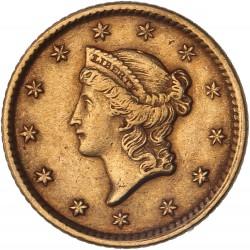 """Etats Unis - 1 dollar """"Liberty"""" - 1852"""