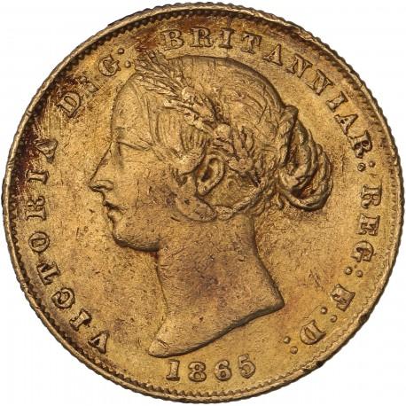 Australie - souverain 1865