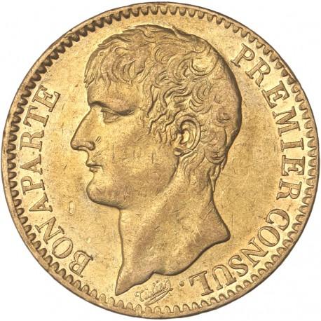 40 francs Bonaparte Ier Consul an XI A