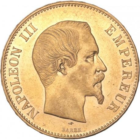 100 francs Napoléon III 1857 A