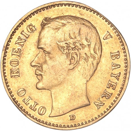 Allemagne - Bavière - 10 mark 1906