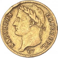 20 francs Napoléon Ier - 1813 Utrecht
