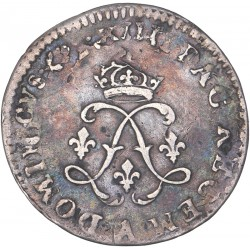 Louis XIV - 4 sols aux deux L - 1691 A