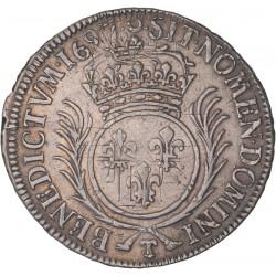 Louis XIV - demi écu aux palmes 1697 T