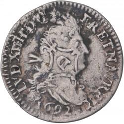 Louis XIV - 4 sols aux deux L - 1692 A