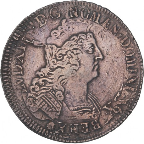Louis XIV - Ecu aux 8L - Paris