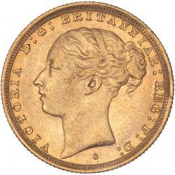 Australie - Souverain 1887 S