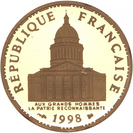 100 francs or Panthéon 1998