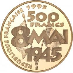 500 francs or PAX 1995
