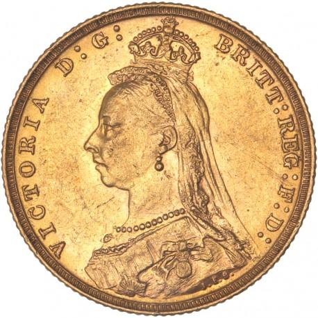 Australie - Souverain 1892 M