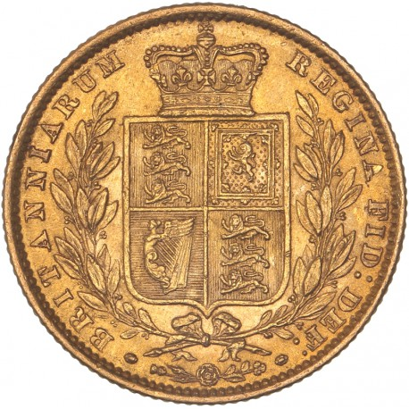 Grande Bretagne - Souverain 1862