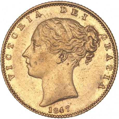 Grande Bretagne - Souverain 1847