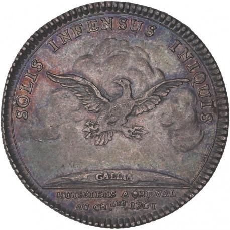 Jeton Louis XVI - Huissiers à cheval du Chatelet - 1761
