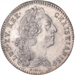 Jeton Louis XV Chambre de Commerce de La Rochelle 1734
