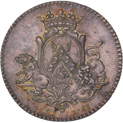 Jeton échevins et maires de Nantes 1763