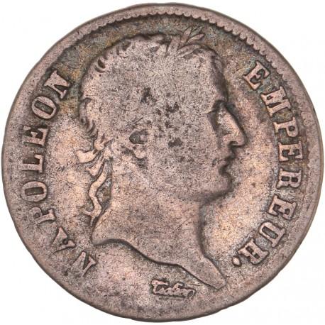 1 franc Napoléon Ier 1808 Lyon - Revers république.