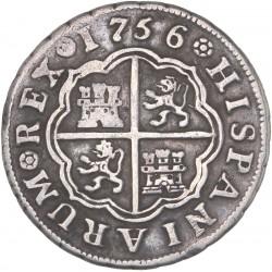 Espagne - 1 réal de Ferdinand VI